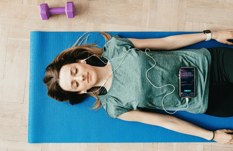 hands off feature meditation app